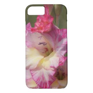 Rosan blommar knappt där fodral för iPhone 7