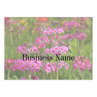 Rosan blommar visitkorten