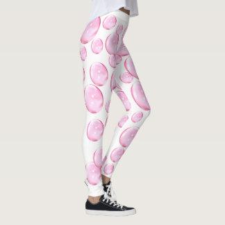 Rosan bubblar vit leggings
