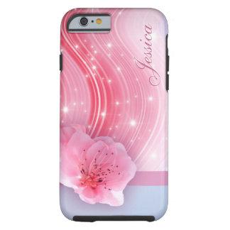 Rosavårblommar Tough iPhone 6 Skal
