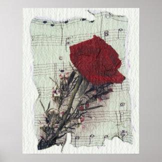 <Rose and Music> vid Kim Koza 2 Poster