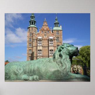 Rosenborg slott, Köpenhamn, Danmark Poster