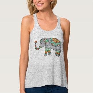 Rosie elefanten linne med racerback
