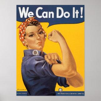 Rosie Riveteraffischen Poster