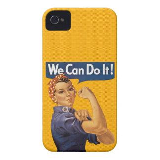 Rosie riveteren kan vi göra den röd polka dots Case-Mate iPhone 4 case