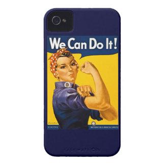 Rosie riveteren kan vi göra den vintage iPhone 4 case