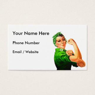 Rosie riveteren - militär service visitkort