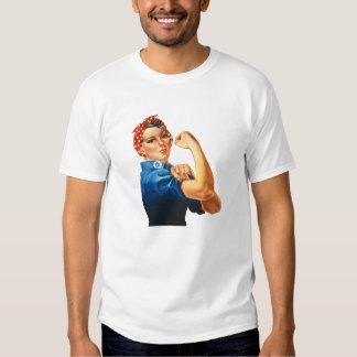Rosie riveteren tee shirt