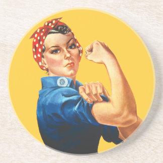 Rosie Riveterkustfartyget Underlägg Sandsten
