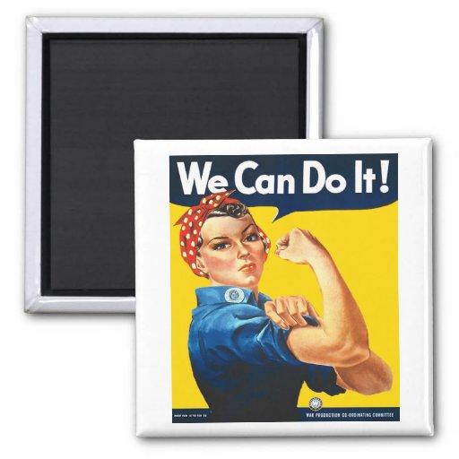 Rosie Riveterkylmagneten Kylskåps Magneter