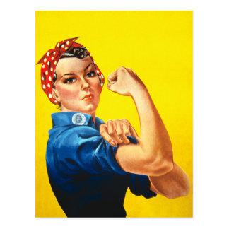 Rosie Rivetervykortet Vykort