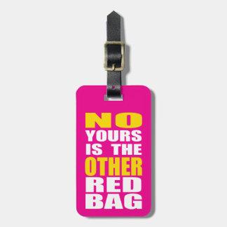 Rosor annat rött hänger lös bagagemärkren bagagebricka