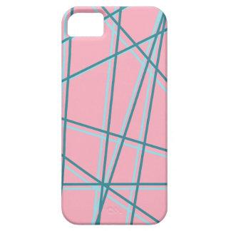Rosor + Blåttpopkonst fodrar fodral! iPhone 5 Cases
