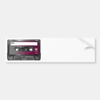 Rosor bleknar den Houndstooth etikettkassetten Bildekal