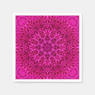 Rosor blommar pappra   servetter för mönster, 5