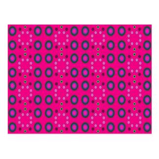 rosor cirklar mönster vykort