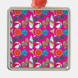 Rosor för boll för strand för solglasögon för julgransprydnad metall