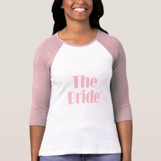 Rosor för brudbyltebaby tshirts