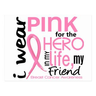 Rosor för hjälte i vänbröstcancer för liv 2 vykort