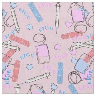 Rosor för NICU-sjuksköterskatyg Tyg