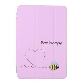 Rosor för tecknad för lyckligt realitetbi iPad mini skydd
