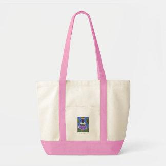 Rosor för toto för öflicka beställnings- tote bag