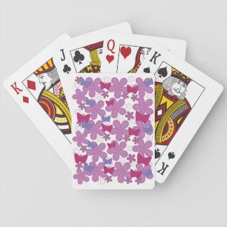 Rosor för vårfjärilar | spelkort