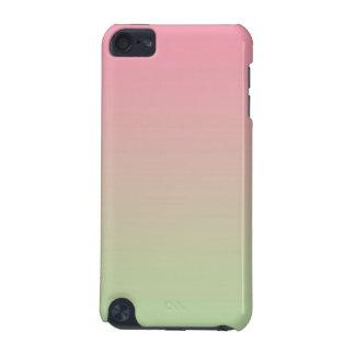 Rosor & gröna Ombre iPod Touch 5G Fodral