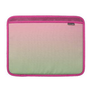 Rosor & gröna Ombre MacBook Sleeve