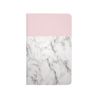 Rosor och marmoranteckningsbok anteckningsbok
