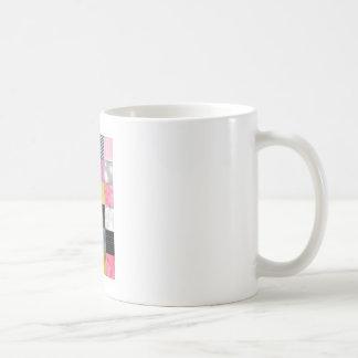 Rosor och silvertäcke kaffemugg