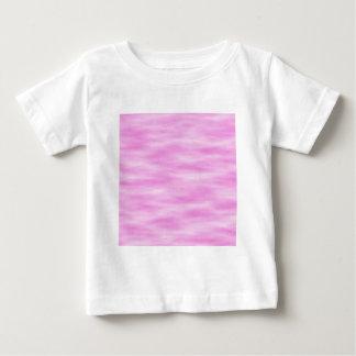 Rosor och vit vågigt modellen tee shirt