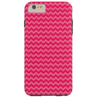 Rosor på rosa sparrerand tough iPhone 6 plus skal
