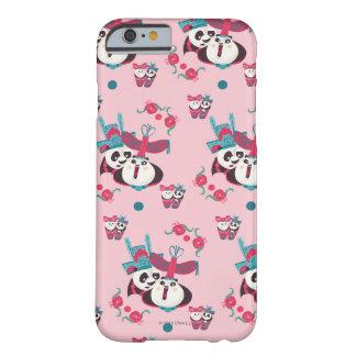 Rosor Po och Mei Mei mönster Barely There iPhone 6 Skal