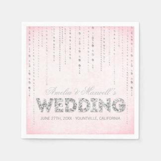 Rosor & servetter för bröllop för
