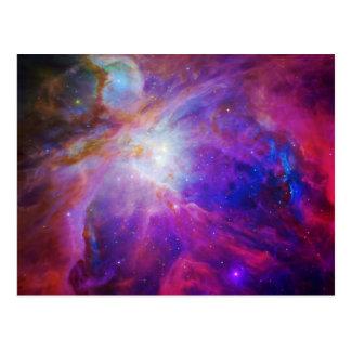 Rosor tonad Orion Nebula Vykort