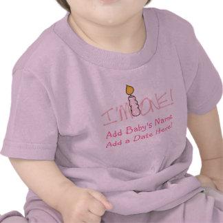 Rosor undersöker I-förmiddag en personligbabyT-trö Tee