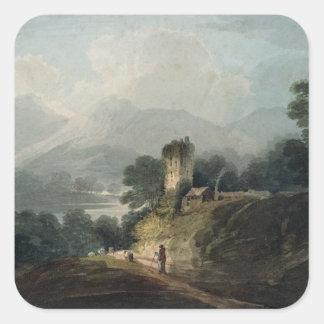 Ross slott, Killarney, ståndsmässiga Kerry Fyrkantigt Klistermärke