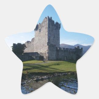 Ross slott Killarney Stjärnformat Klistermärke