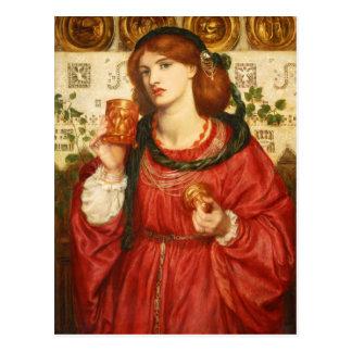 Rossetti den älska vykortet för kopp CC0648 Vykort