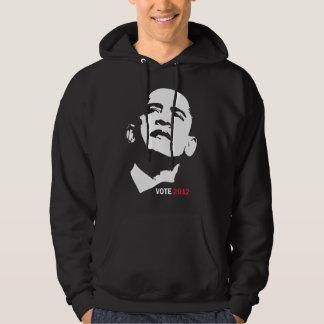 Rösta den Barack Obama hoodien 2012 Sweatshirt Med Luva