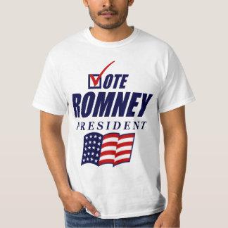 Rösta den Romney presidenten Tee