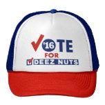 Rösta för Deez nöt Keps