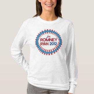 Rösta för den Romney Ryan T-tröja 2012 T-shirt