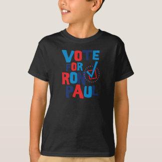 Rösta för det Ron Paul valet 2012 Tee