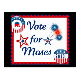 Rösta för Moses Vykort