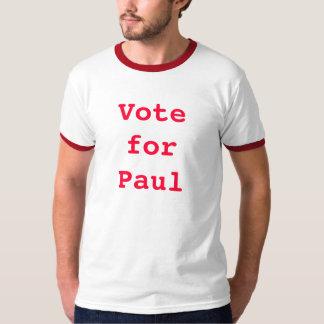 Rösta för Paul T-shirts