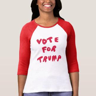 RÖSTA FÖR röd TRUMF - + Skjorta för Tröja