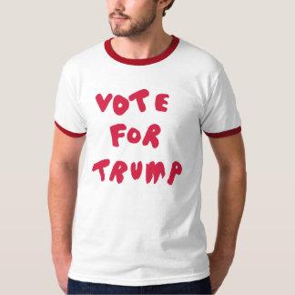 RÖSTA FÖR röd TRUMF - + VitRingerskjorta T Shirt