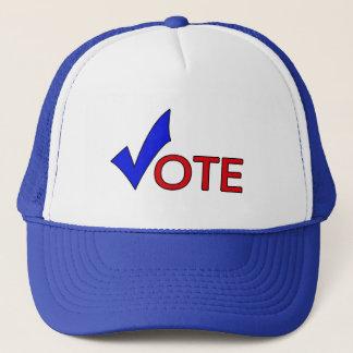 Rösta hatten keps